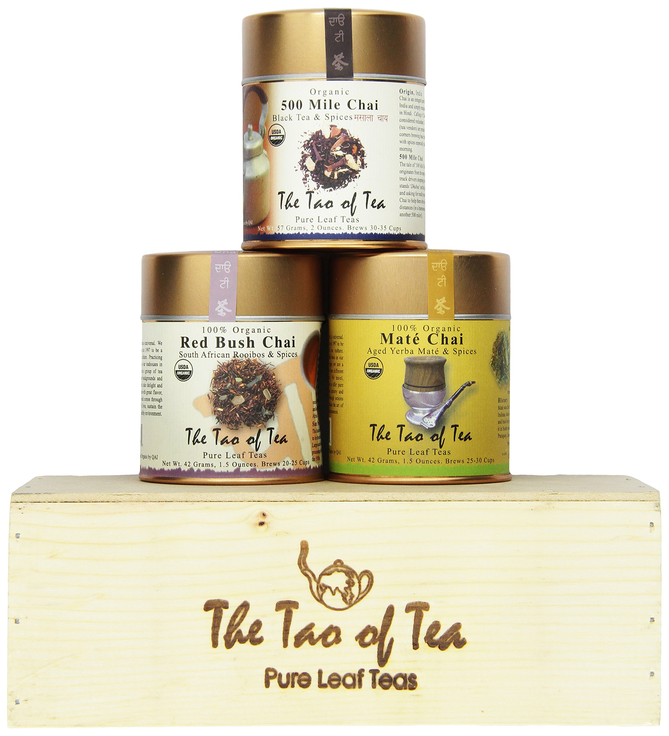 The Tao of Tea Chai Sampler, 3-Count Box