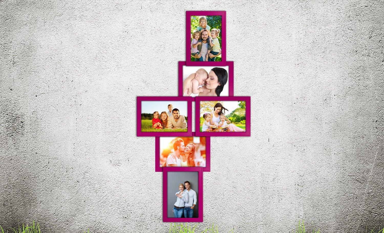 Amazon.de: Bilderrahmen Bildergalerie Wandgalerie Fotorahmen Bilder ...