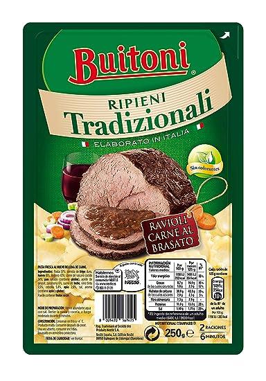 Buitoni - Pasta Fresca Tradizione ravioli carne al brasato, 250 g