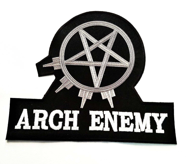 Amazon Big Jumbo White Black Arch Enemy Music Band Heavy Metal