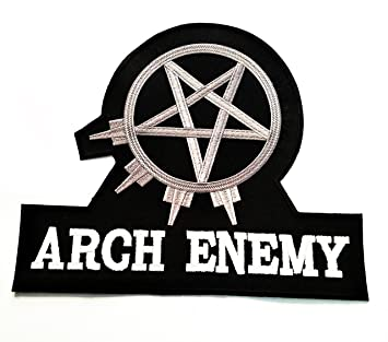 Big Jumbo blanco negro Arco Enemy Music Band Heavy Metal Punk Rock ...
