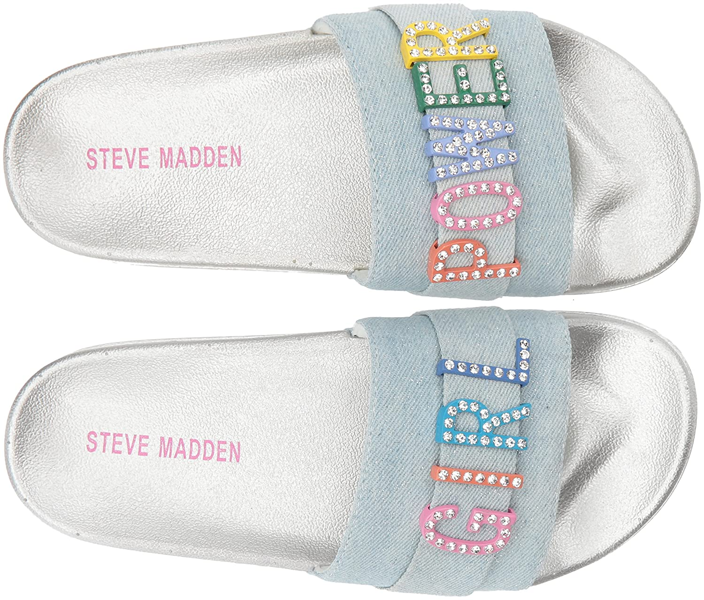 Steve Madden Kids Jwords Slide Sandal JWOR02S7