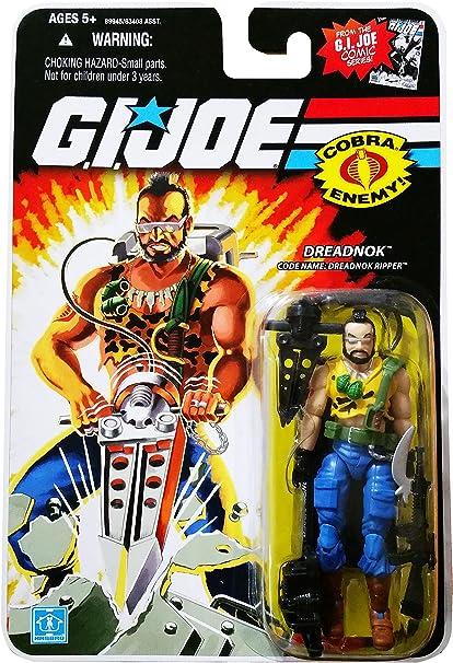 GI Joe 25th Anniversary Comic Series Cardback: Dreaknok Ripper (Cobra) 3.75 Inch Action Figure
