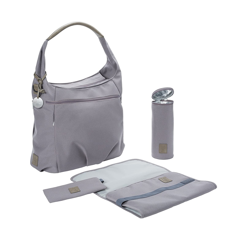 Lassig Green Label Hobo Diaper Bag, One Size, Grey 1101004200
