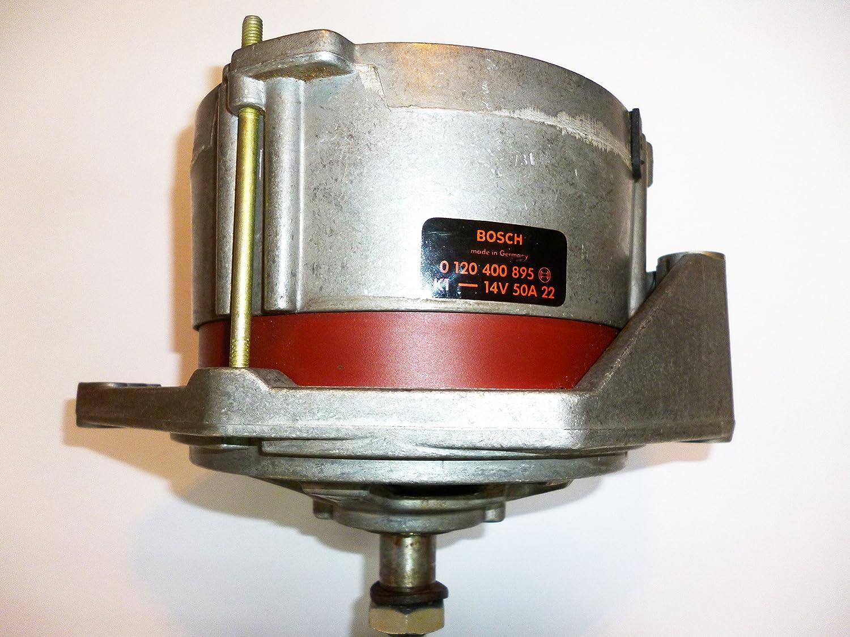 Porsche 914 Vw 411//412 Alternator New Oem Bosch 50 Amp