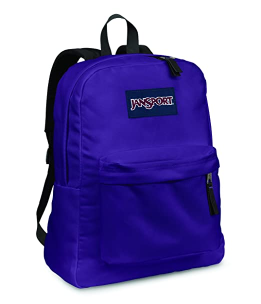 best service 792e9 a8c8f Amazon.com  Jansport Superbreak Backpack (Electric Purple)  Clothing