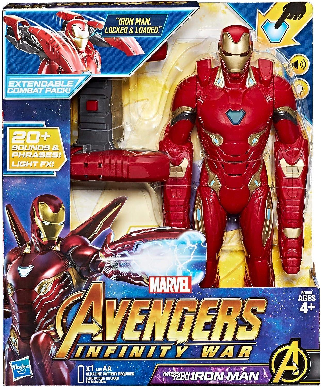 Hasbro Marvel Avengers – Infinity War Iron Man Mission Tech Titan ...