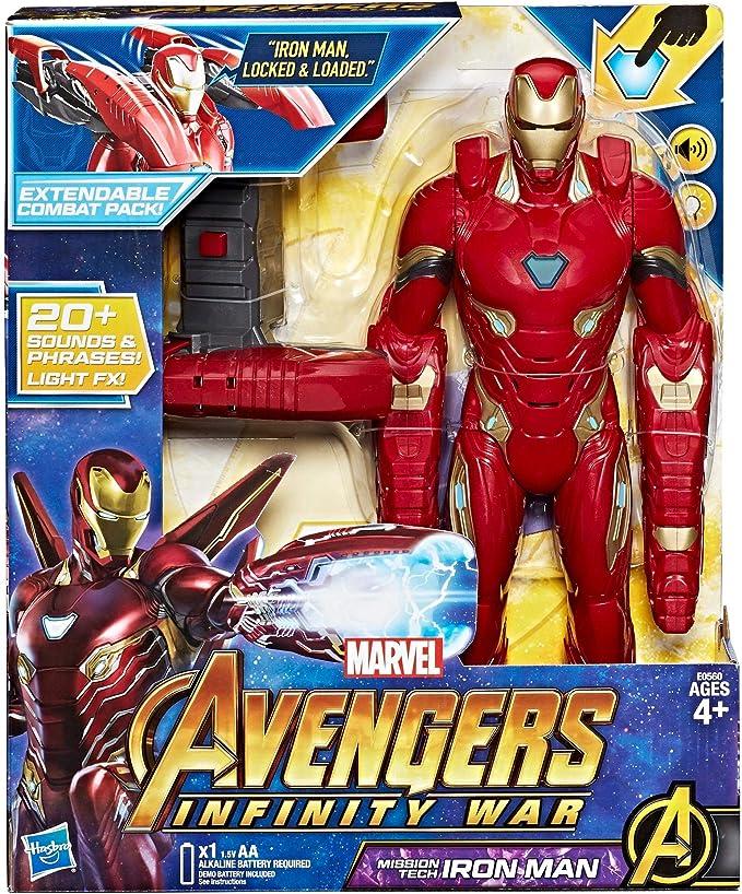 10 Marvel Avengers 3 Inifinity War Thanos LED Action Figure PVC Figur Spielzeug'