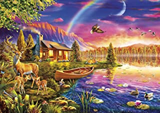 product image for Buffalo Games - Lakeside Cabin - 300 Large Piece Jigsaw Puzzle