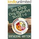Tea Shop Cozy Mysteries - Books 1-6 (Cozy Mystery Collections Book 2)
