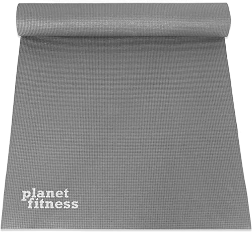 Planet Fitness Yoga Mats 1 4 Grey and Purple – Parent