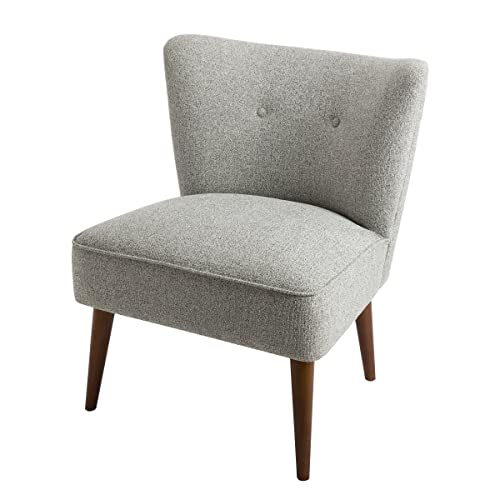Spatial Order Kaufmann Modern Armless Accent Chair Button Tufting