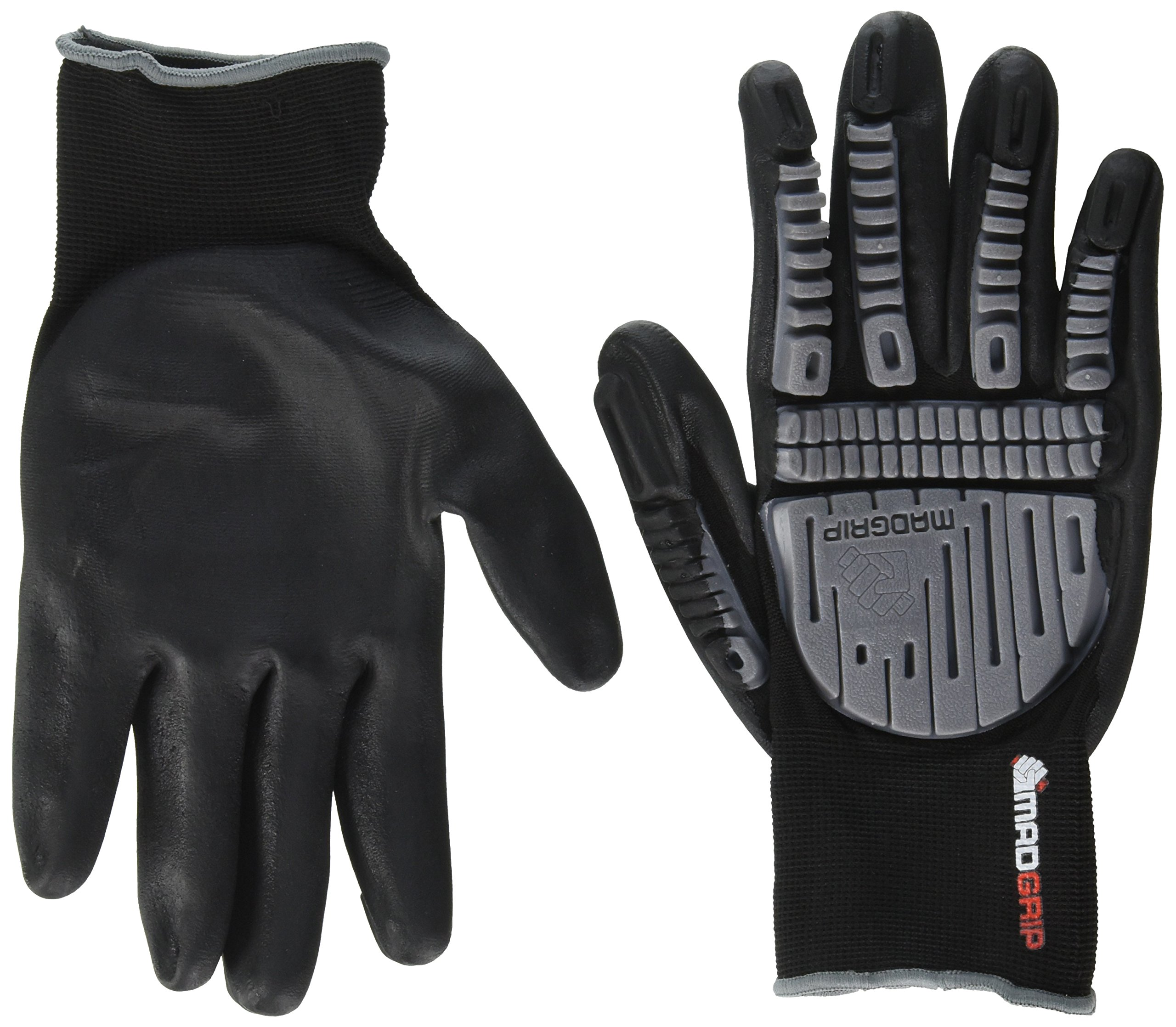 MadGrip Ergo Defender Impact Foam Nitrile Palm Glove by Mad Grip (Image #1)