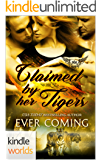 Paranormal Dating Agency: Claimed by Her Tigers (Kindle Worlds Novella) (Claimed Mates Book 1)