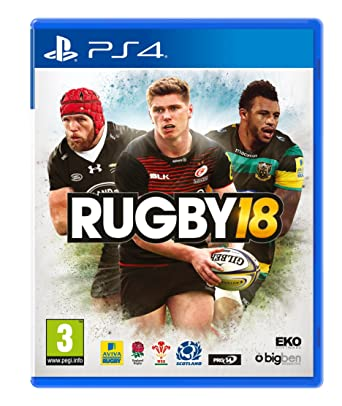 Amazon Com Rugby 18 Ps4 Video Games