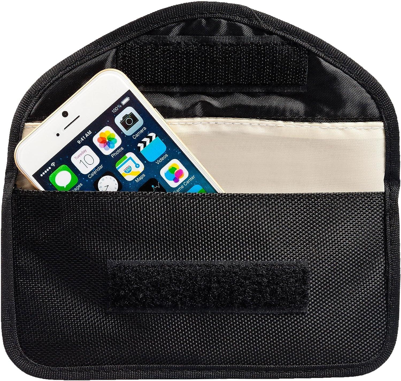 Premium RFID Strahlenschutztasche für Keyless Go Autoschlüssel Handy Kreditkarte