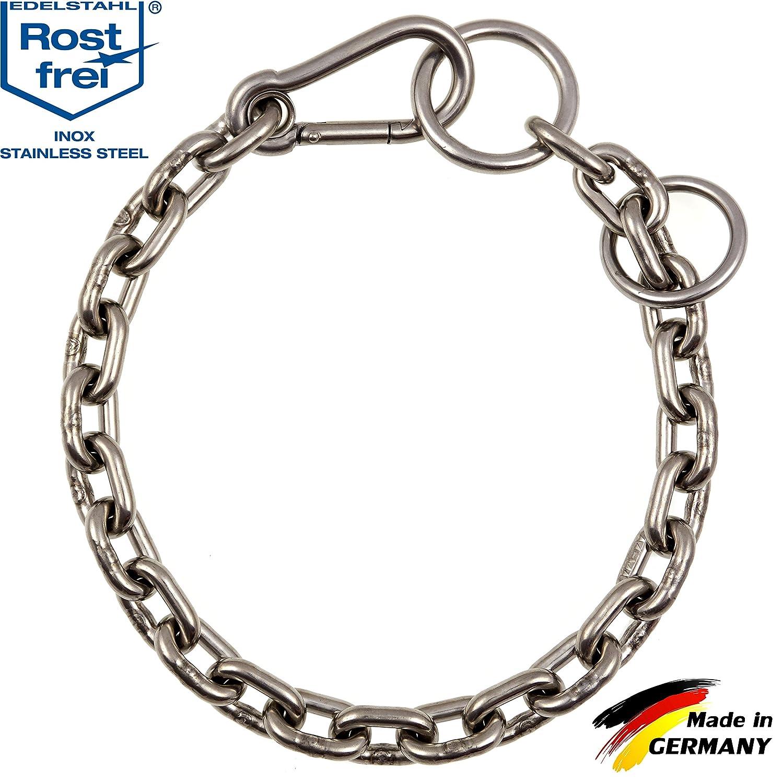 cfa8d90bc089 Collar combinado para perros de acero inoxidable con mosquetón ...