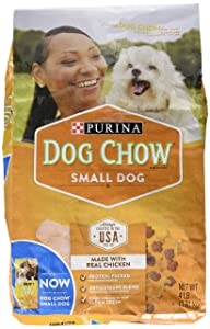 Purina Dog Chow Dry Adult Dog Food, Made with Real Chicken, 4 Lbs Bag