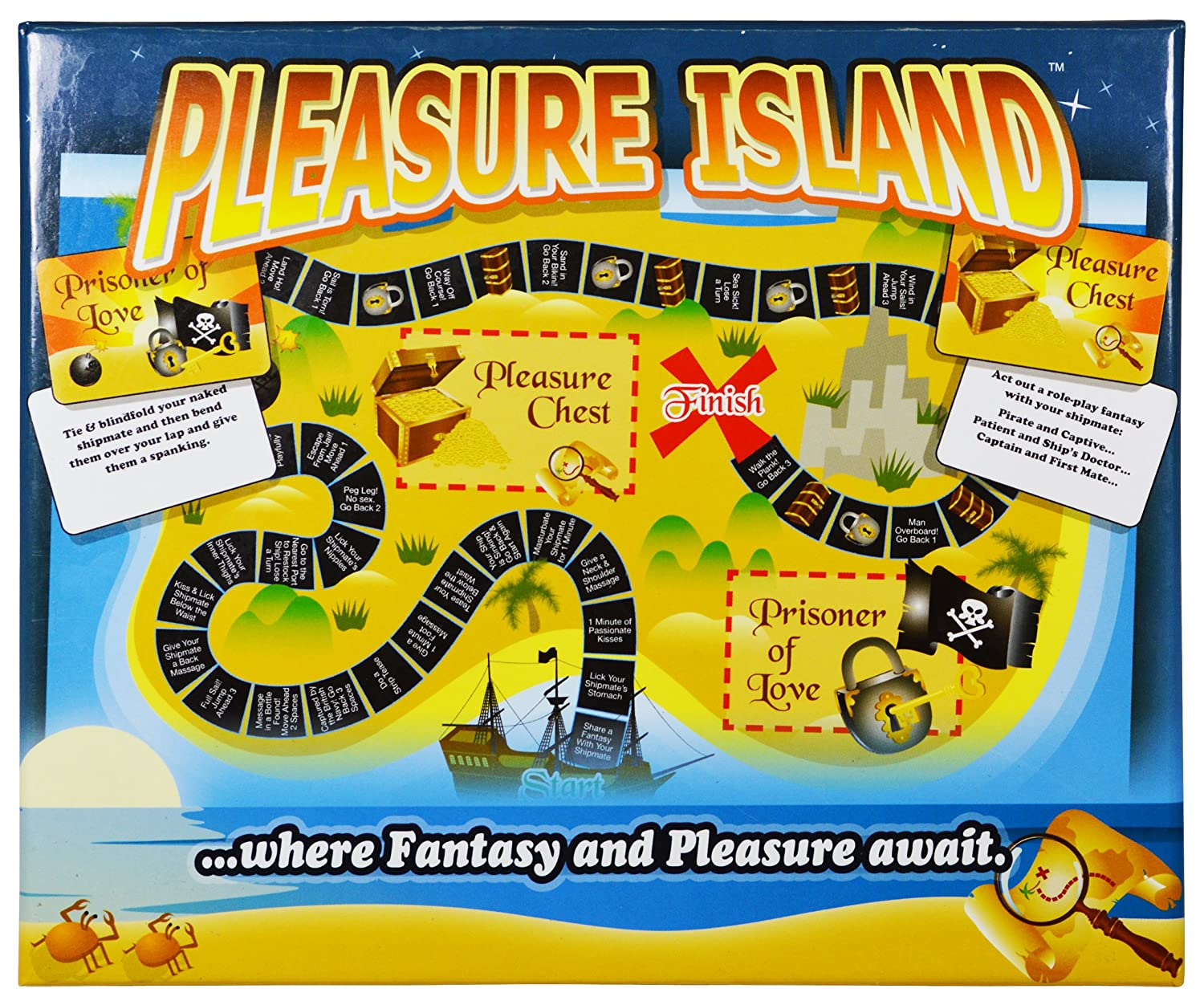 Pleasure island sex game