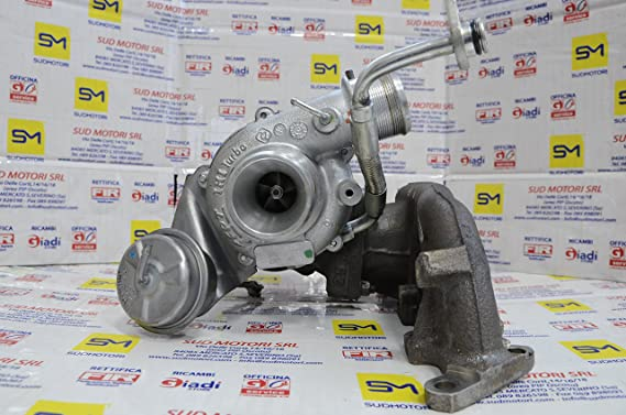 Turbina 55248312 55220546 FPT vl39 Alfa Romeo Fiat Lancia 1.4 T-Jet Turbo T TB: Amazon.es: Coche y moto