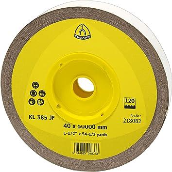 KLINGSPOR 218079 Schleifrolle KL 385 JF 1 Stk Korn 60 40X50000 mm