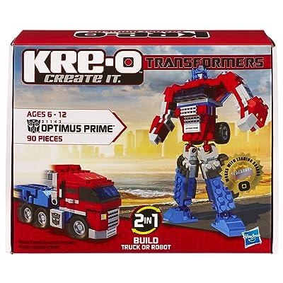 KRE-O Transformers Optimus Prime Construction Set (31143): Toys & Games
