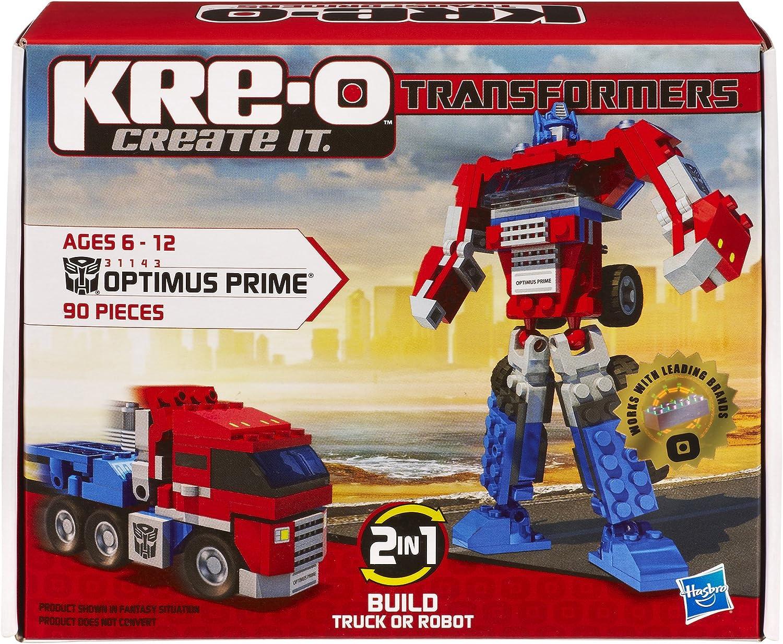 Hasbro 31143148 KRE-O Transformers - Juego de construcción de Optimus Prime básico: Amazon.es: Juguetes y juegos