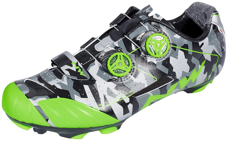 Northwave Extreme XCM MTB Fahrrad Schuhe grau schwarz grün 2017  Größe  46