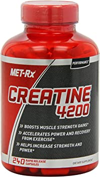 240-Count MET-Rx Creatine 4200 Supplement