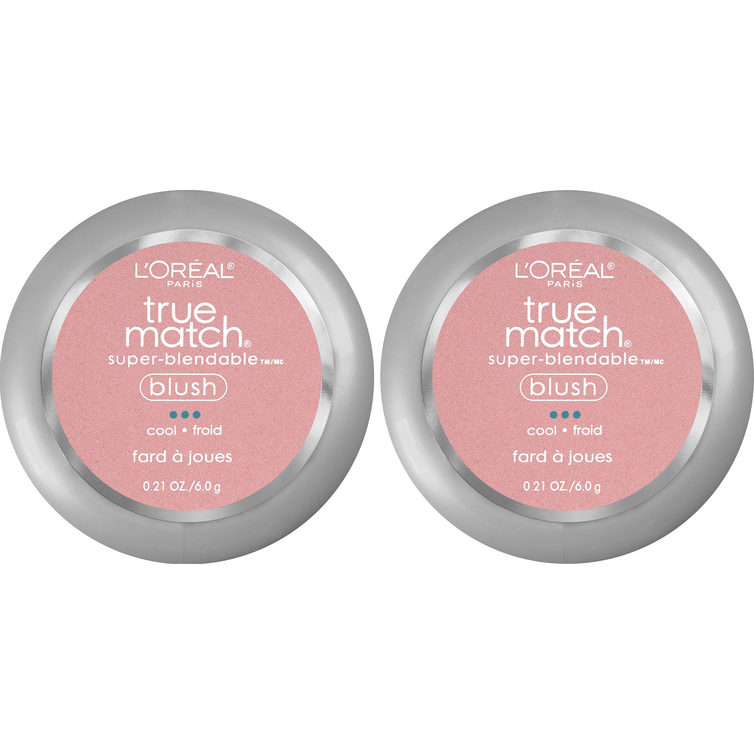 L'Oreal Paris Cosmetics True Match Super-Blendable Blush, Tender Rose, 2 Count