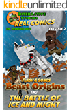 Amazing Minecraft Comics: Flash and Bones: Beast Origins - The Battle of Ice and Might: The Greatest Minecraft Comics for Kids (Real Comics in Minecraft - Beast Origins Book 2)