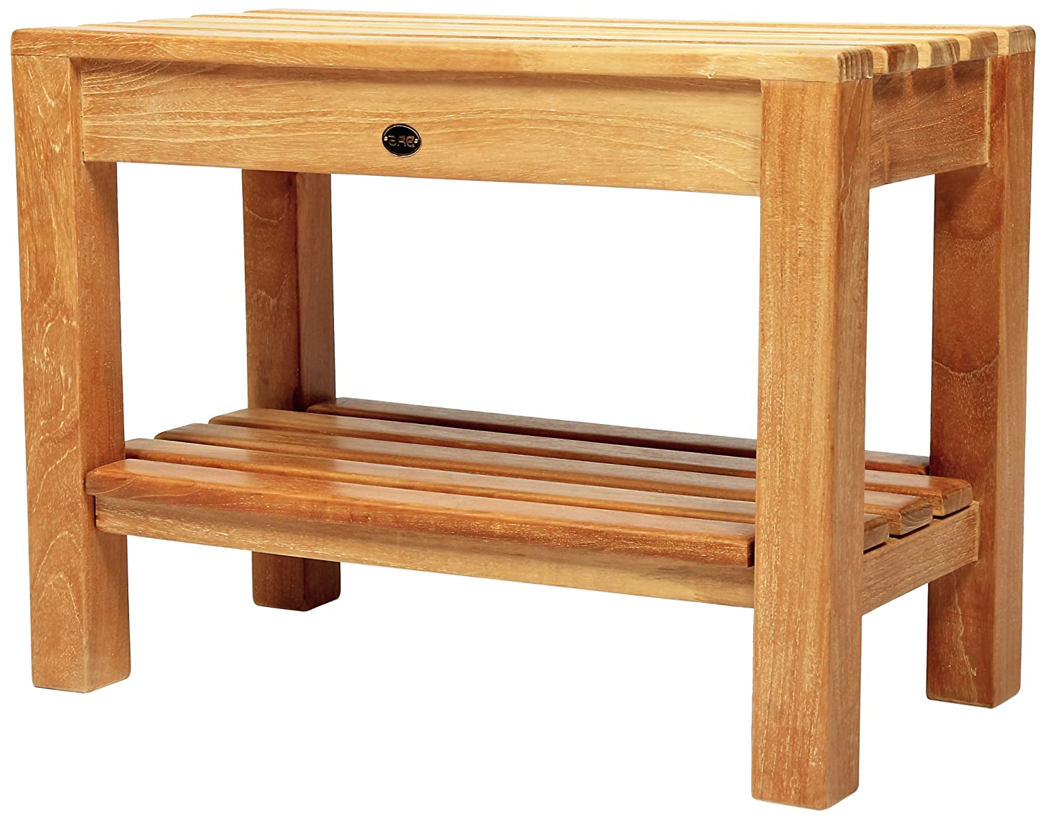 Amazon.com: Arb Teak & Specialties Coach Teak Shower Bench with ...