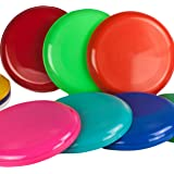10 Frisbee, Flying Disc in 10 various colors, Frisbees colourful mixed and sold by SchwabMarken