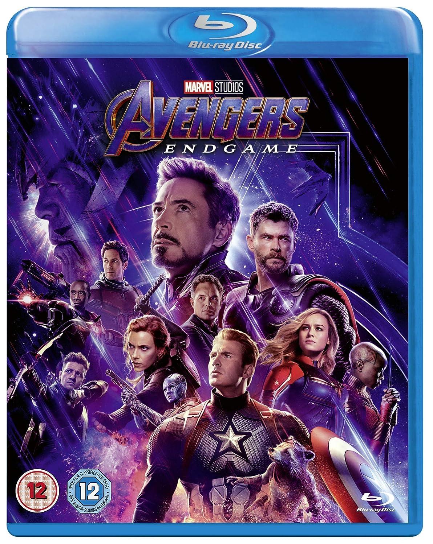 Amazon Com Avengers Endgame Blu Ray 2019 Region Free Robert Downey Jr Chris Evans Anthony Russo Joe Russo Movies Tv