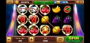Sevens Slot from Tidda Games