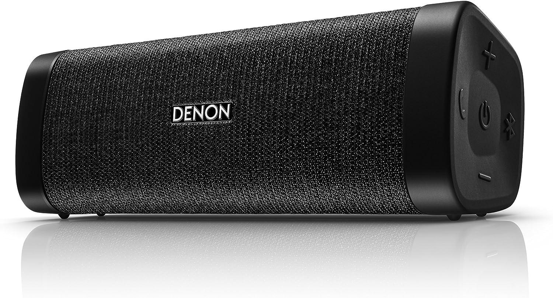 Denon DSB-250BT Negro - Altavoces portátiles (4 cm, Inalámbrico, Bluetooth/3.5 mm, A2DP,AVRCP,HFP,HSP, 30 m, Negro)