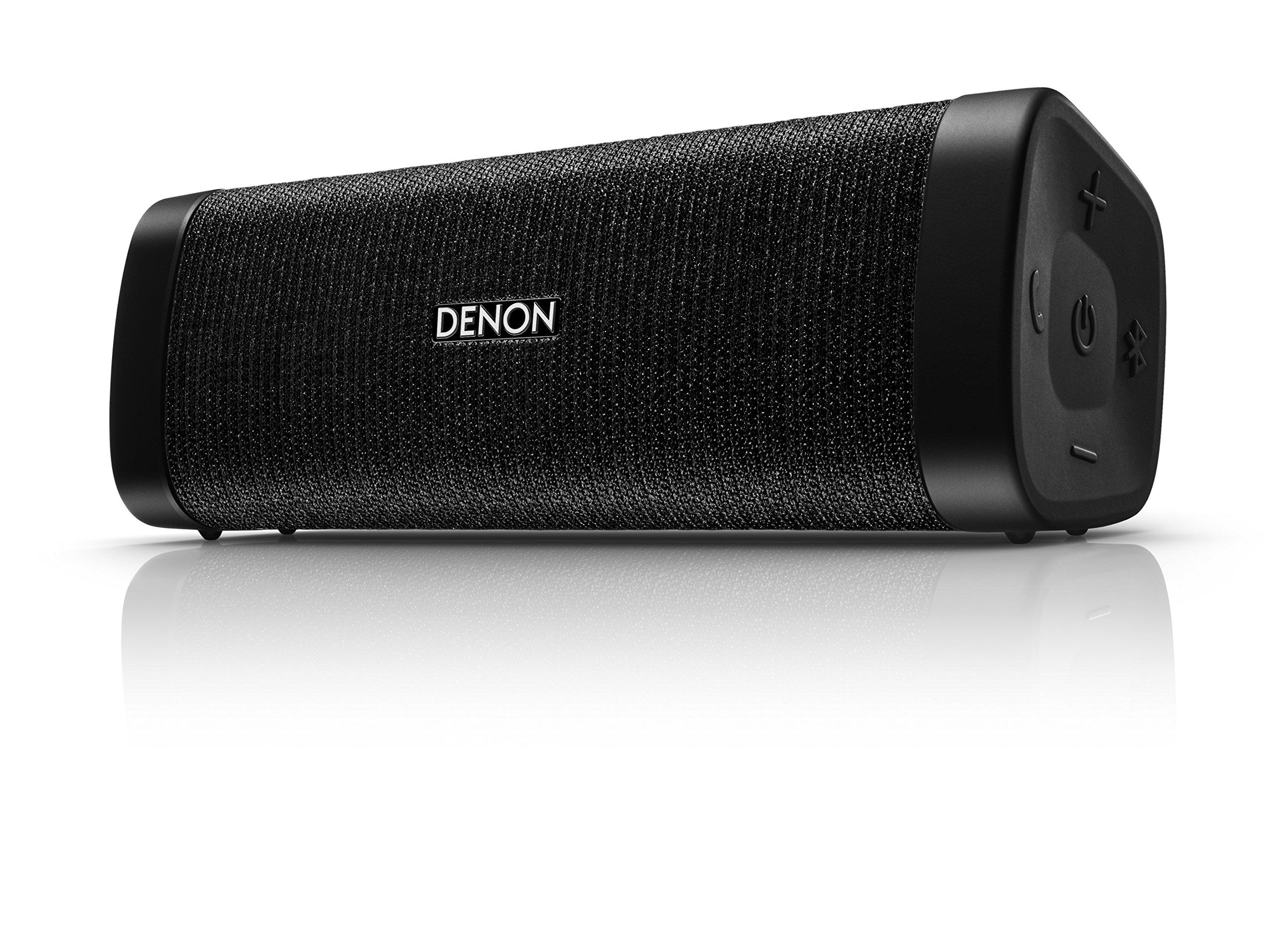 Denon DSB-150BT Envaya Mini Portable Premium Bluetooth Speaker - Black