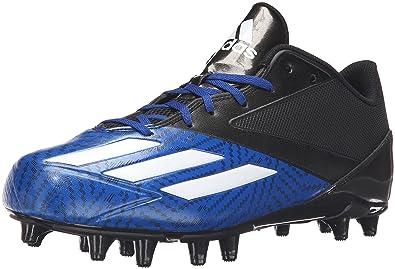 big sale b86bb 2abc0 adidas Men s Freak X Carbon Mid Football Shoe Black White Collegiate Royal  9 M
