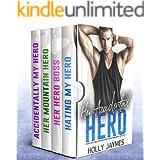 Her Accidental Hero: A BAD BOY BILLIONAIRE BROTHERS ROMANCE BOX SET