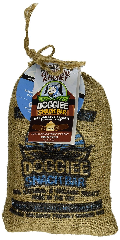 Doggiee Snackbar Organic and Natural Cinnbone and Honey