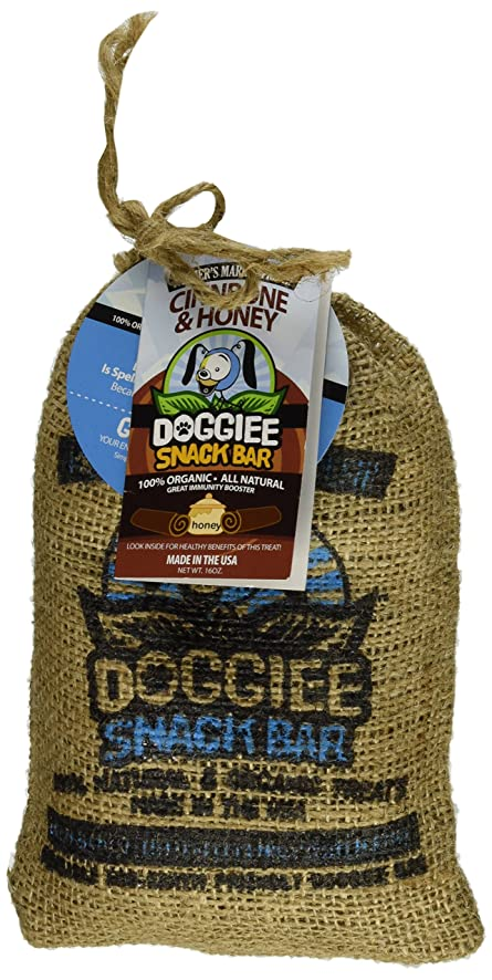 and  Doggiee Snackbar Organic and  Natural Cinnbone and Honey   b91c5d