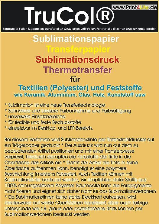 Sublimación Papel Papel de transferencia para textiles ...
