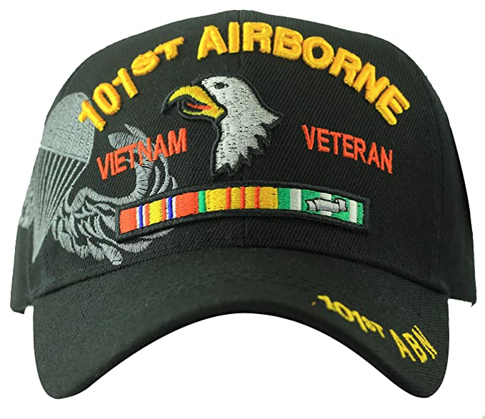 Image Unavailable. Image not available for. Color  Vietnam Veteran US Military  101st Airborne Division Hat Baseball ... 30aa36a739f1