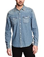 Levi's® Homme Truckee Western Chemise habillée Taille normale Manches longues