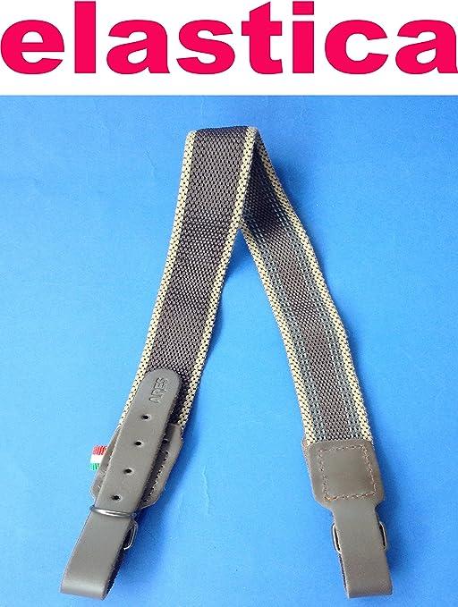 cinghia in pelle regolabile per fucile caccia carabina bretella tracolla fucile