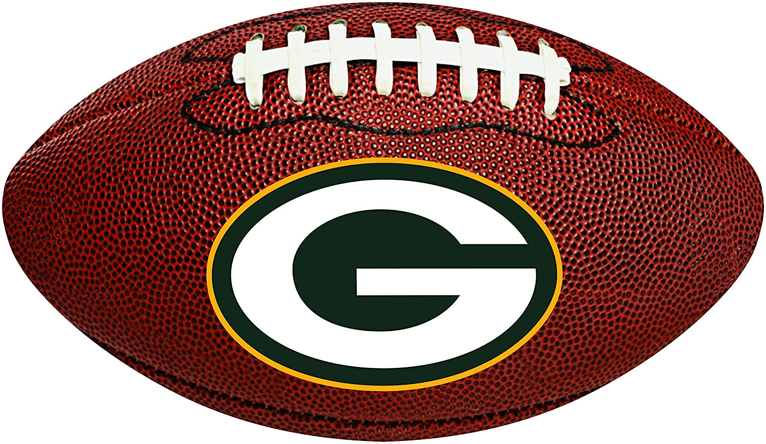 Creative Converting verde Bay Packers football-shaped decorativo ...