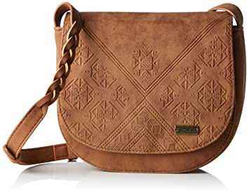 Roxy Material Love Kleine Cross Body de Bolsa, Color marrón Claro, tamaño 19 x 6 x 18 cm: Amazon.es: Deportes y aire libre