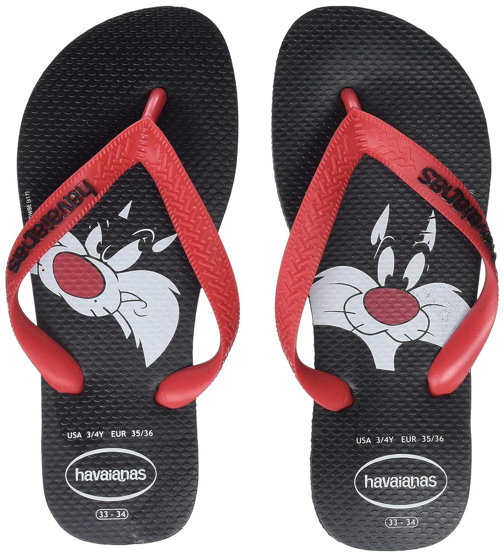 TALLA 35/36 EU. Havaianas Looney Tunes, Chanclas para Unisex Adulto