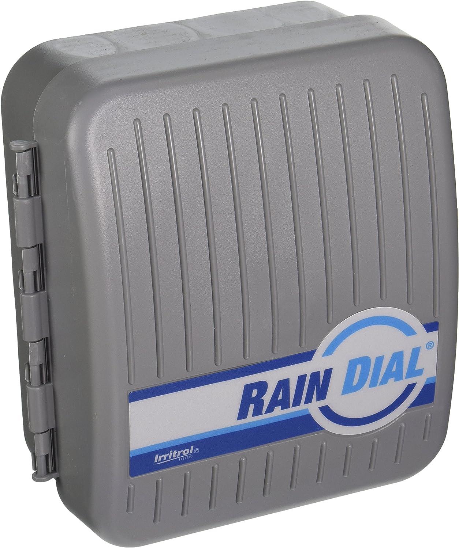 Irritrol Rain Dial RD600-INT-R 6 Station Indoor Irrigation Controller : Lawn And Garden Sprinklers : Garden & Outdoor