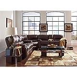 Coaster Home Furnishings 600357B3 Casual Sectional Sofa, Brown